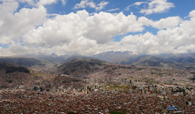 La Paz – Dem Himmel sonah