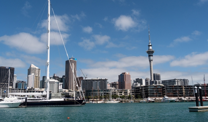 Auckland – Arrival in the Land of Hobbits